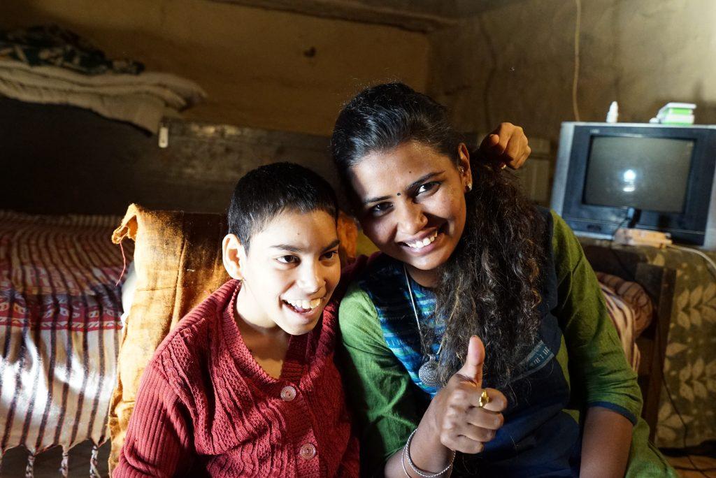 Shruti und Sonali